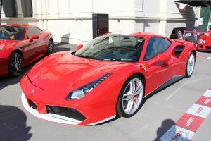 kategórie automobilov, športové autá - ferrari 488