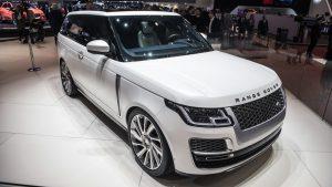 Autosalón Ženeva - Range Rover SV