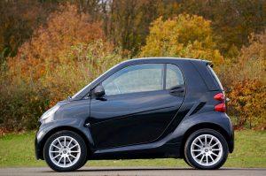 kategórie automobilov, mini autá - smart fortwo