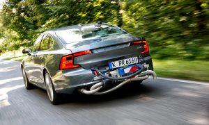 Volvo, meranie emisií podľa normy WLTP
