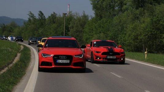 VLOG 8 Mustangov + Audi RS6 = deň plný zážitkov!