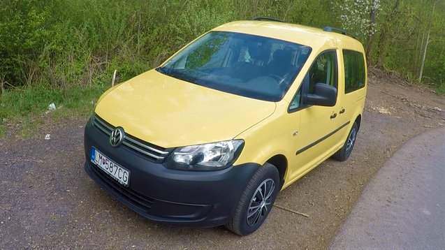 TEST Jazdenky Volkswagen Caddy 1.6 TDI 3.gen