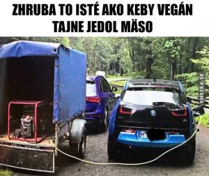 bmw i3 automobilové vtipy