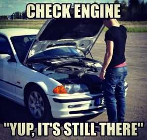 check engine auto vtipy