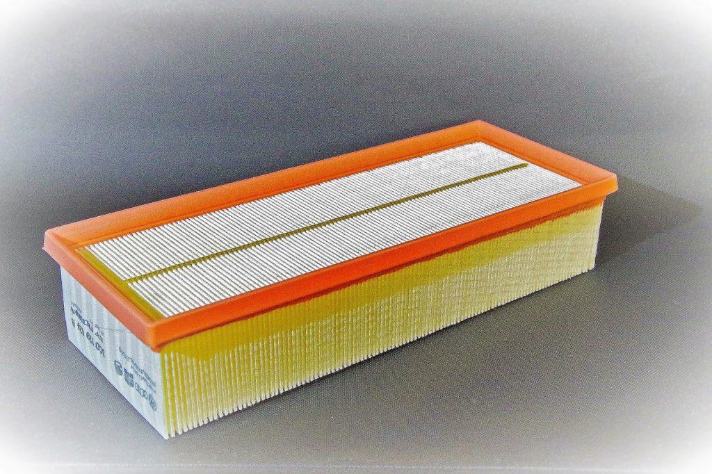 vzduchový filter kontrola