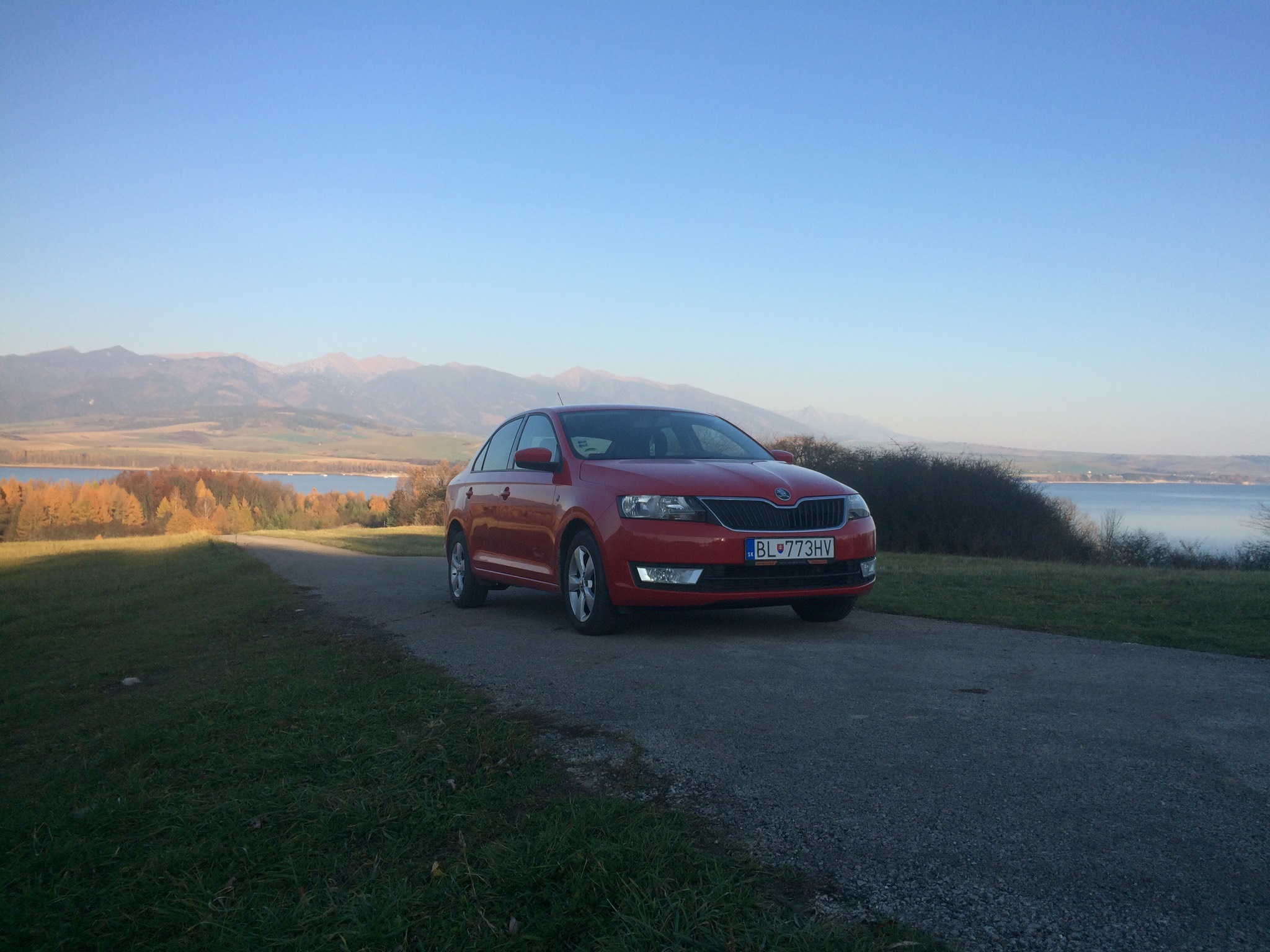 test škoda rapid