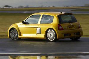 renault clio V6 drift