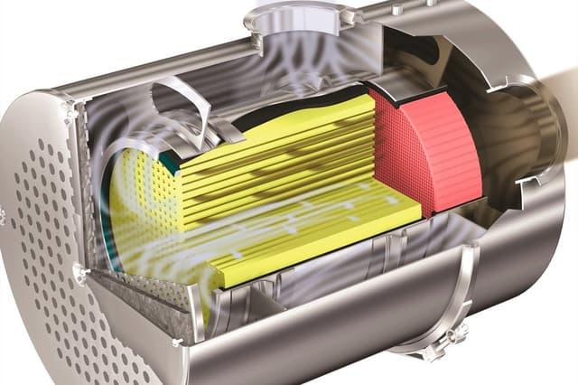 filter pevných častíc benzín motor