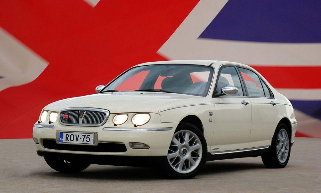 Rover 75 autá do 1000 eur