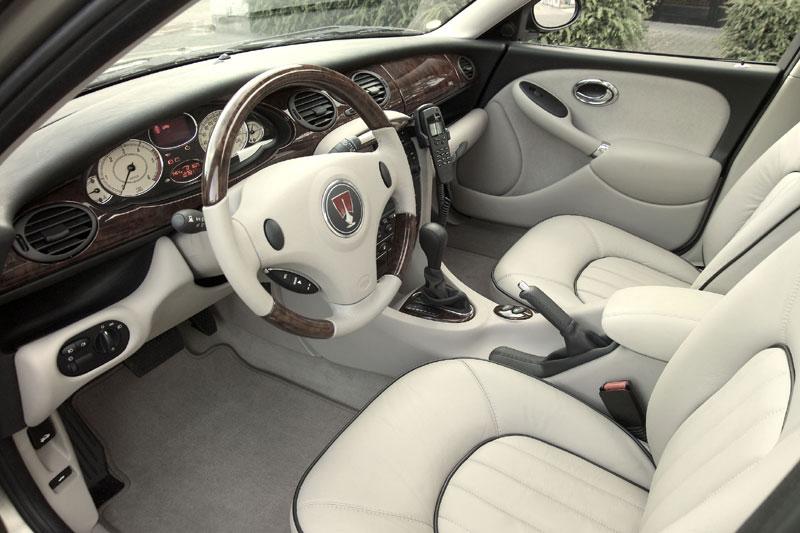 Rover 75 interiér