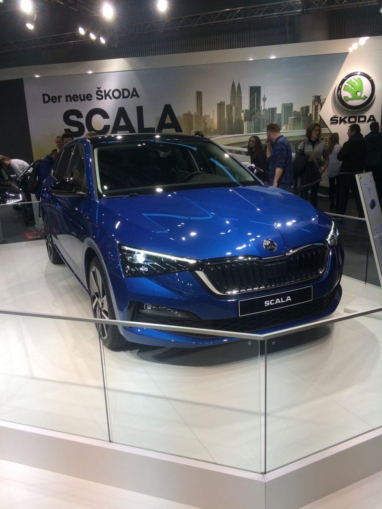 Autosalón Viedeň 2019 Škoda Scala