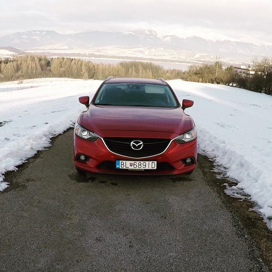 Mazda 6 Wagon 2014 test