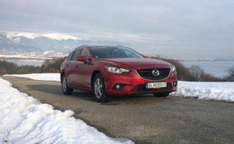 TEST Jazdenky Mazda 6 Wagon 2.2 Skyactiv-D 2014