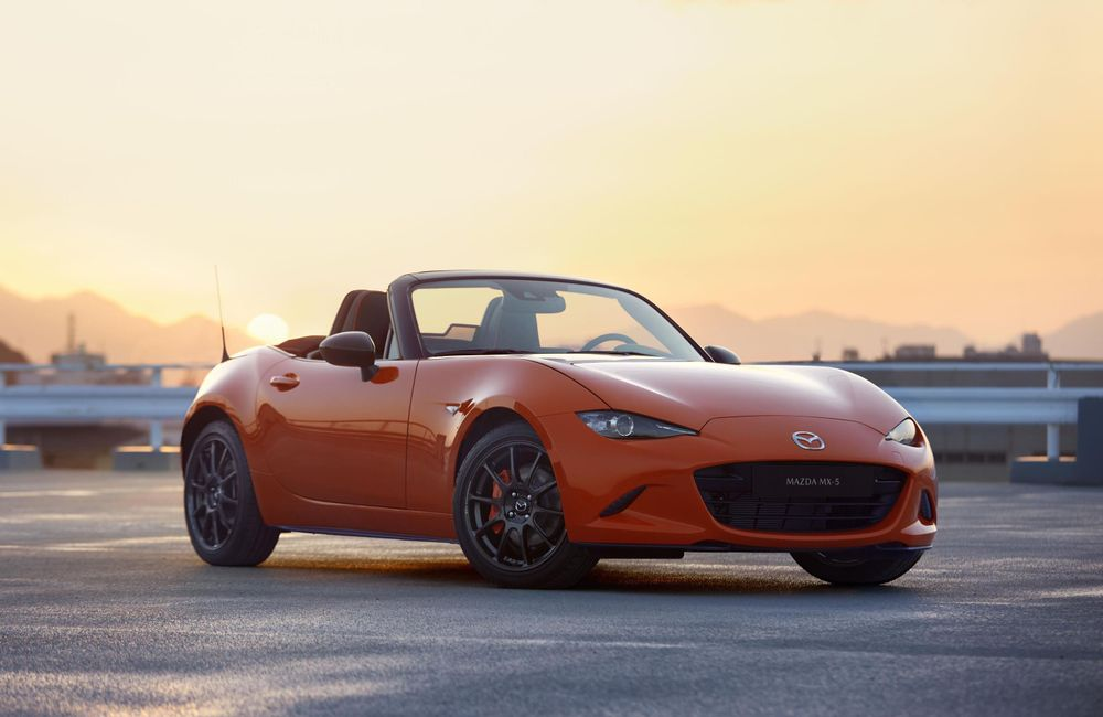 mazda mx5 30th anniversary