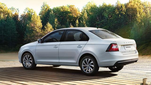 Škoda Rapid sedan Čína