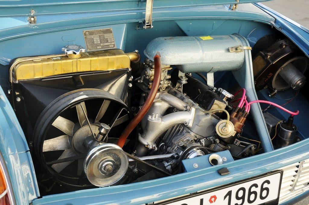 Škoda 1000 MB motor
