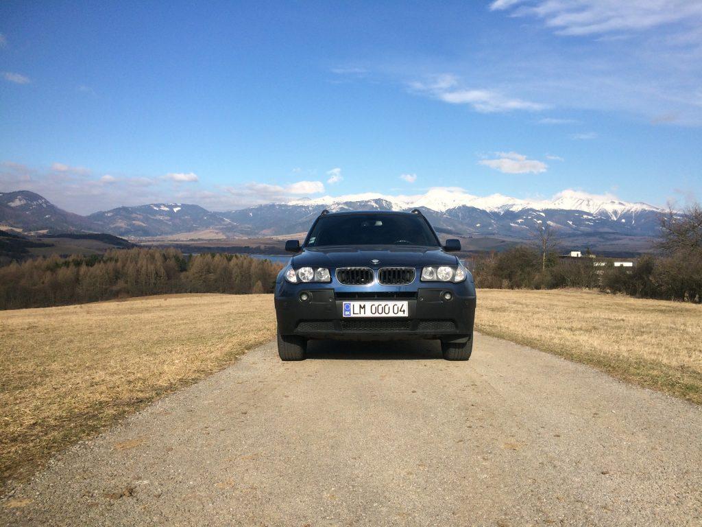 BMW X3 E83 20d xDrive test