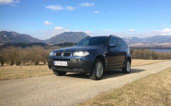 TEST Jazdenky BMW X3 E83 20d xDrive 2007