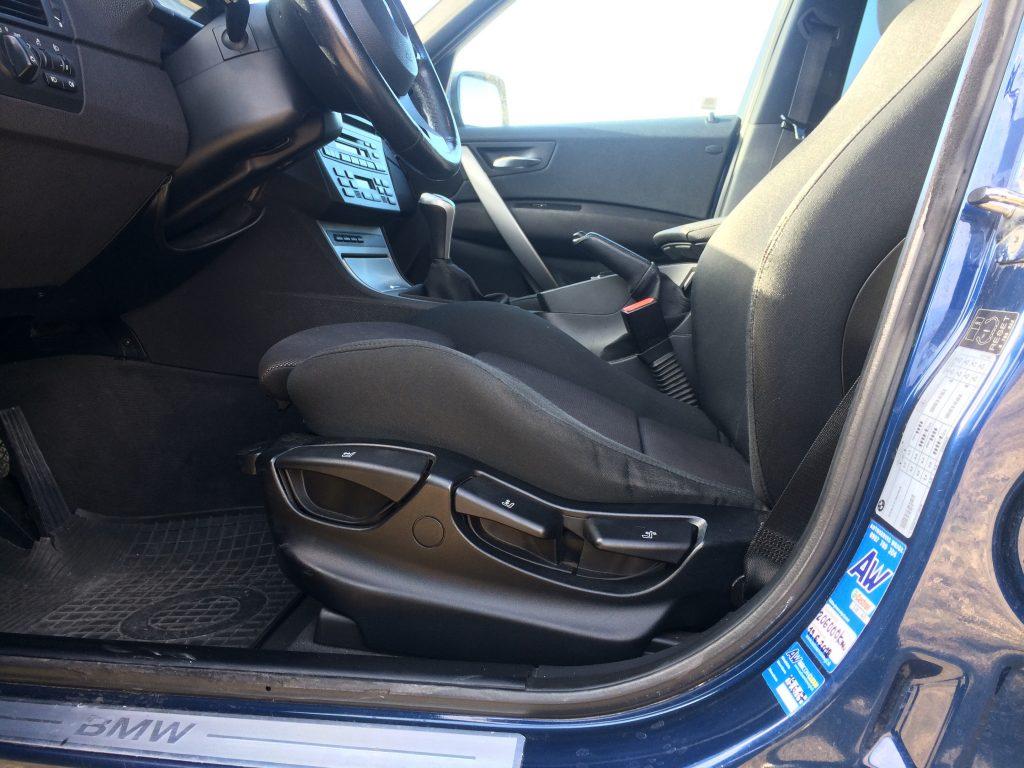 BMW X3 E83 test jazdenky