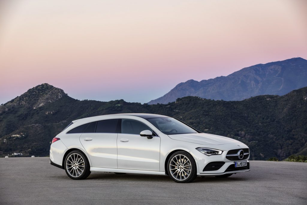 2019 Mercedes CLA Shooting Brake