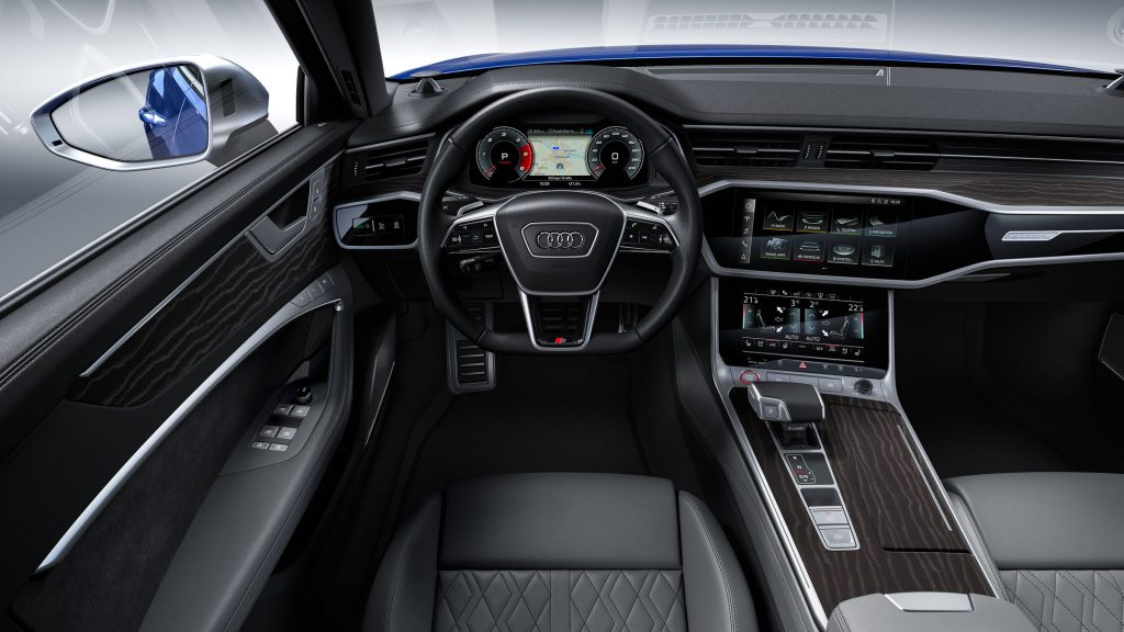 Audi s6 interiér 2019