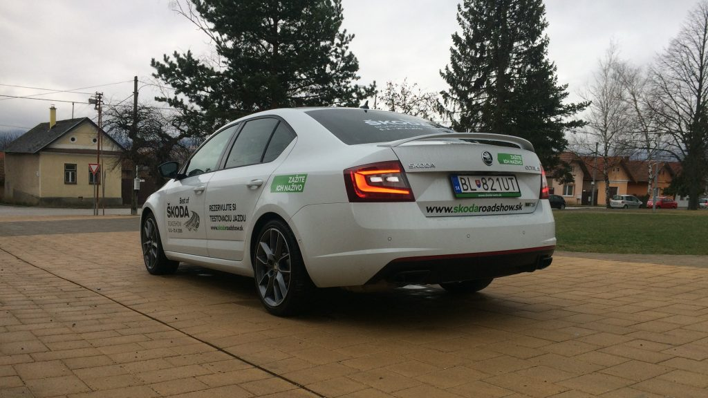 Škoda Octavia rs 245 2019 jazda