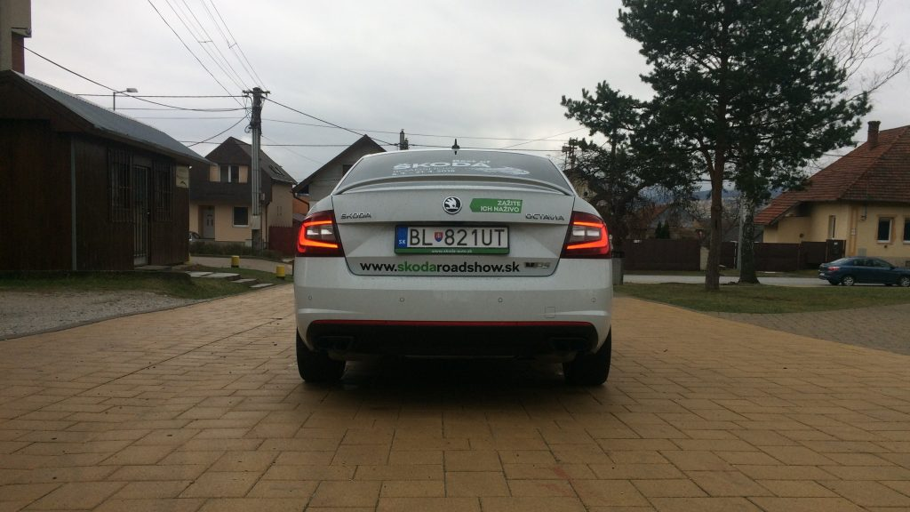 Škoda Octavia RS 245 2019 test