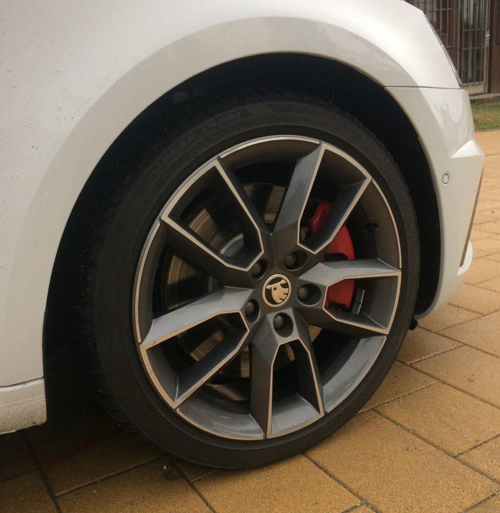 Octavia RS 245 jazda