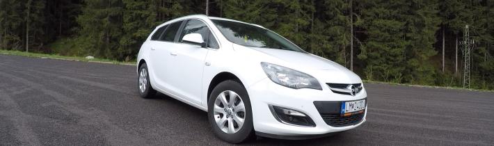 TEST Jazdenky Opel Astra ST 1.6 CDTI