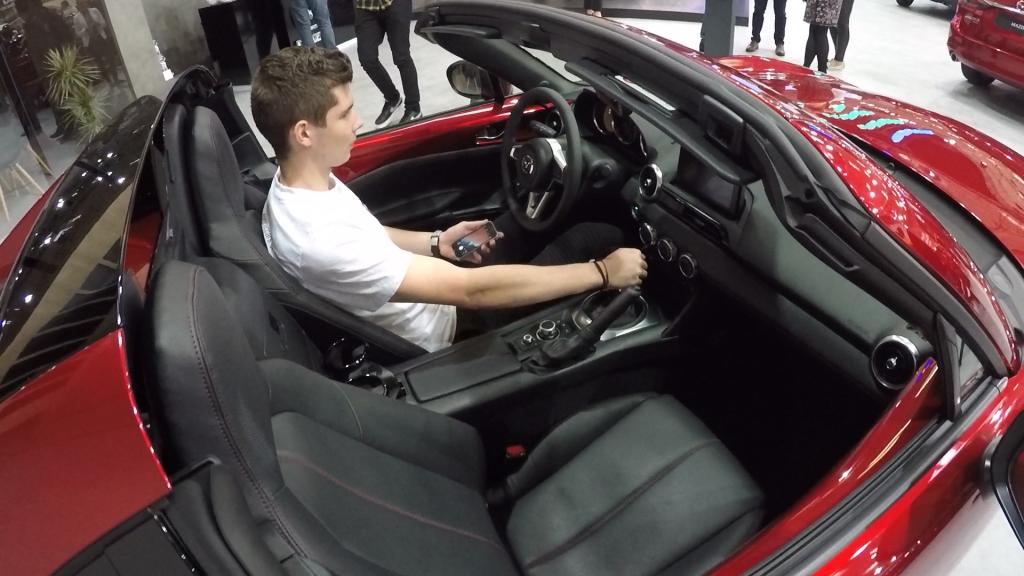 Autosalón Bratislava 2019 Mazda MX-5