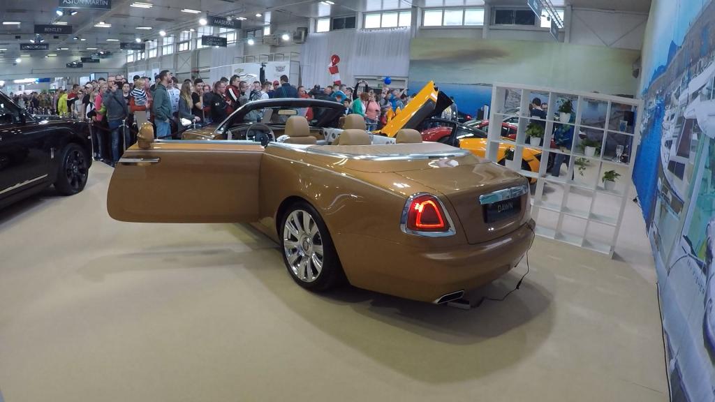 Autosalón Bratislava 2019 Rolls Royce Dawn