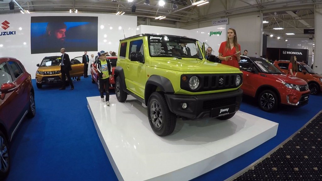 Autosalón Bratislava 2019 Suzuki Jimny