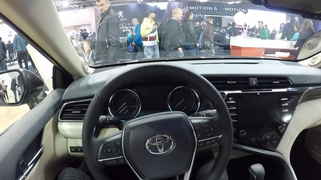 Autosalón Bratislava 2019 Toyota Camry