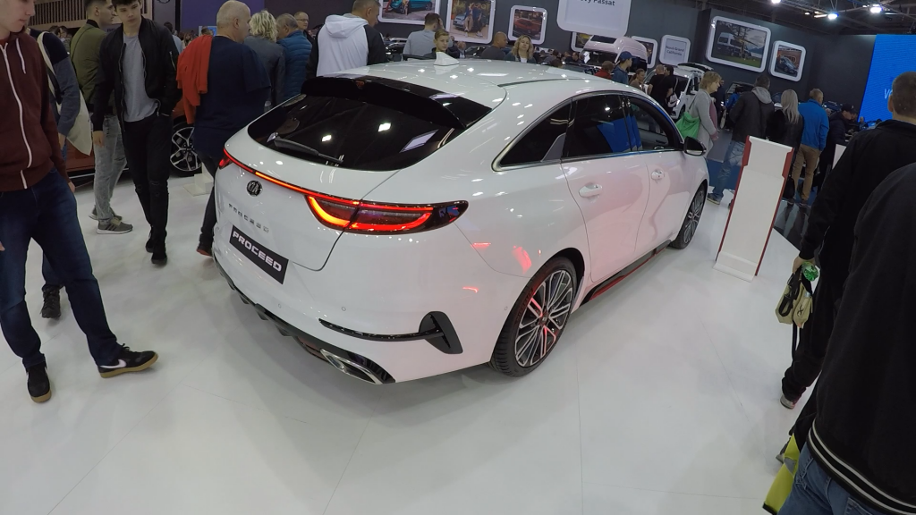 Autosalón Bratislava 2019 Kia Proceed