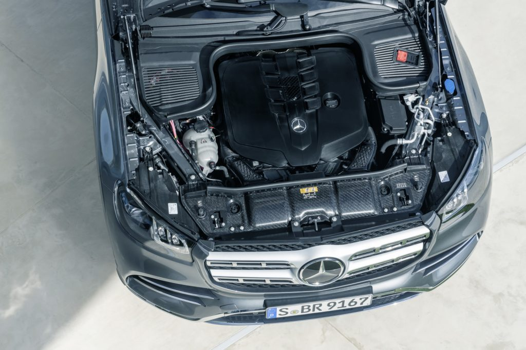 Mercedes GLS 2019 motor