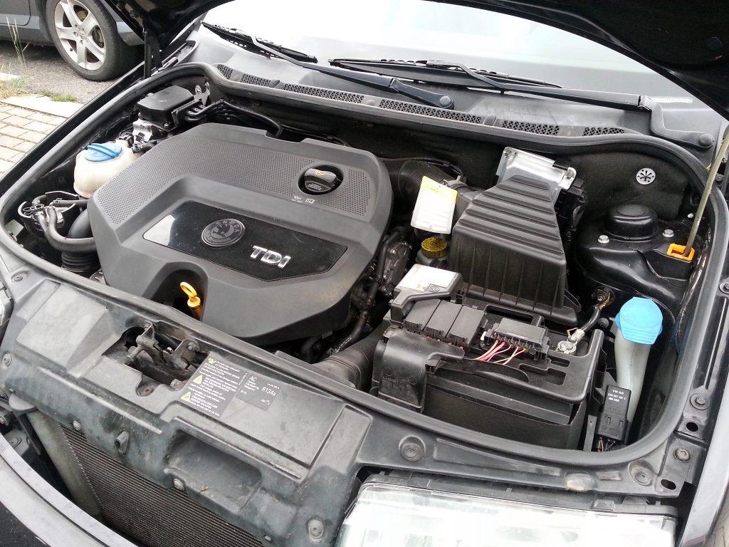 Škoda Octavia 1.9 TDI motor
