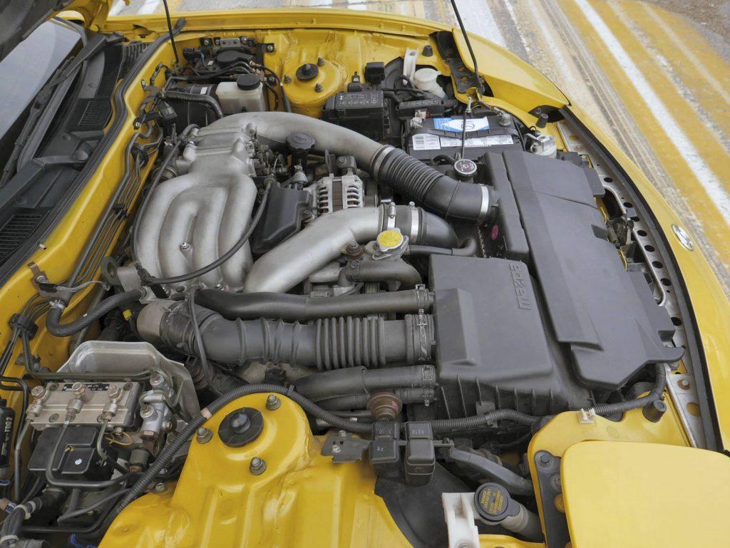 Mazda RX-7 FD motor