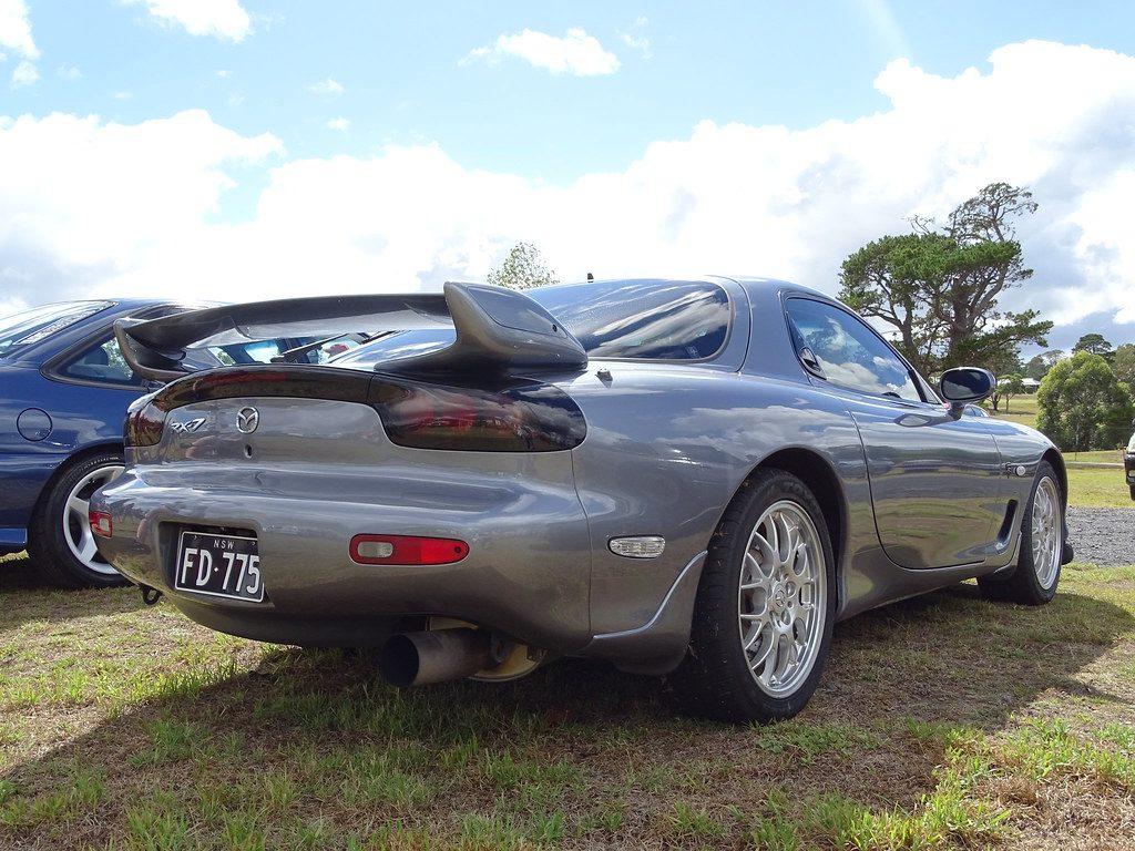 Mazda RX-7 FD zadok