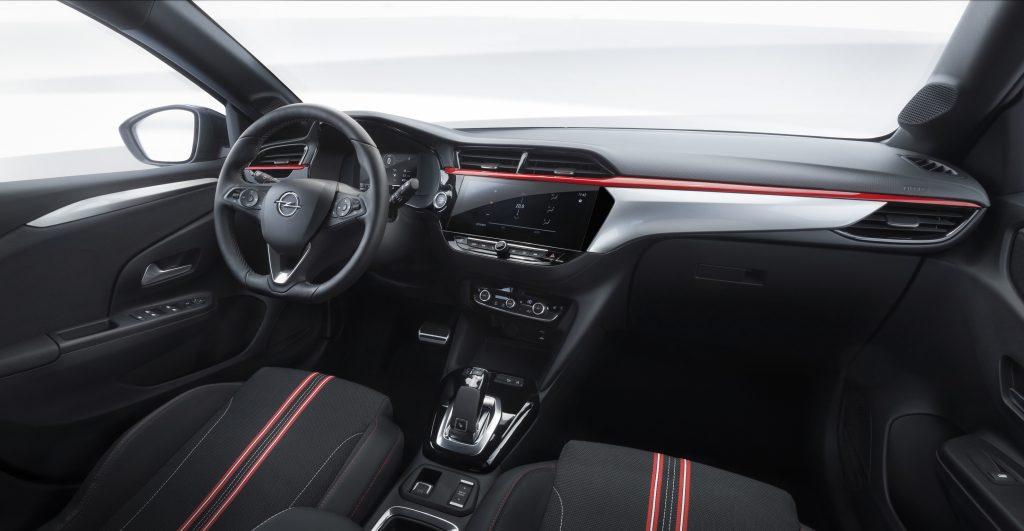 Opel Corsa 2019 interiér