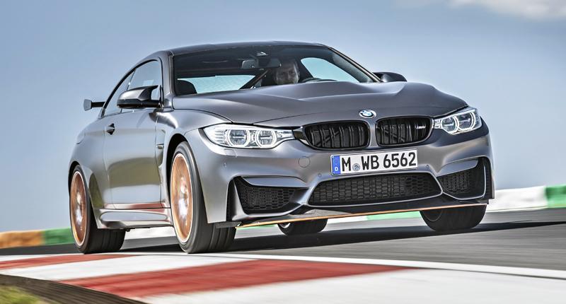 BMW M4 GTS vstrekovanie vody do motora