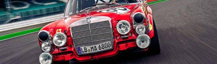 """Mercedes 300 SEL 6.8 AMG – príbeh """"Červenej svine"""""""