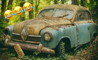 Vtipné, zvláštne a inak deformované auto inzeráty