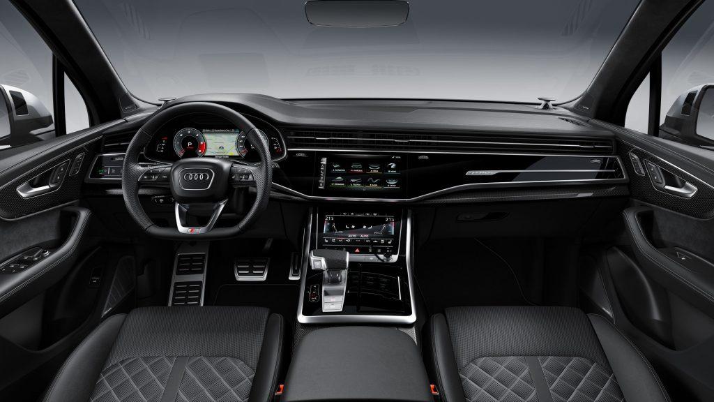 Audi SQ7 2019 interiér
