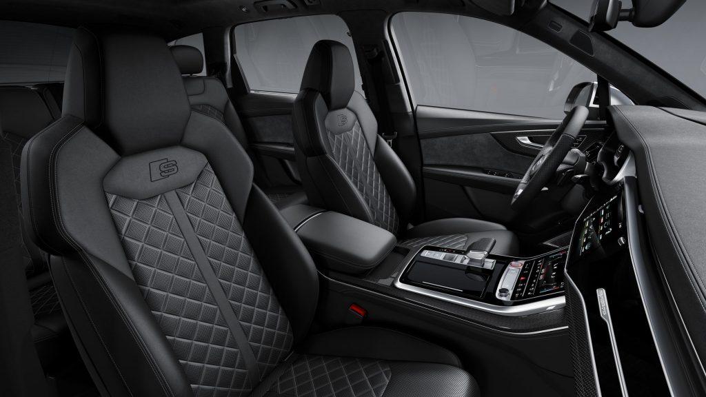 Audi SQ7 2019 interiér sedadlá