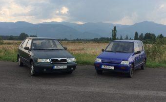Ideálne prvé auto? Škoda Felicia vs Daewoo Tico