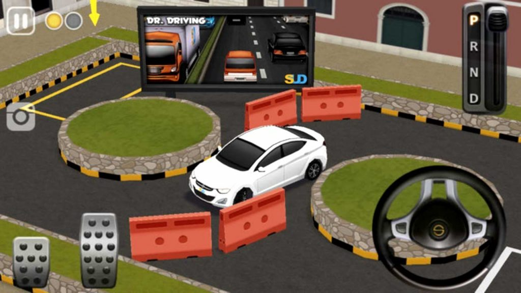 auto hry na mobil dr parking 4 zadarmo