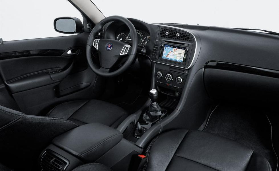Saab 9-3 Turbo X 2008 interiér