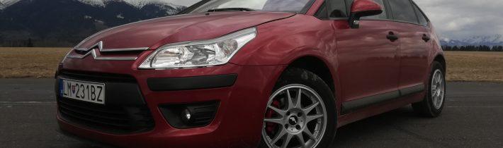 2009 Citroën C4 1,6 VTI recenzia a skúsenosti majiteľa