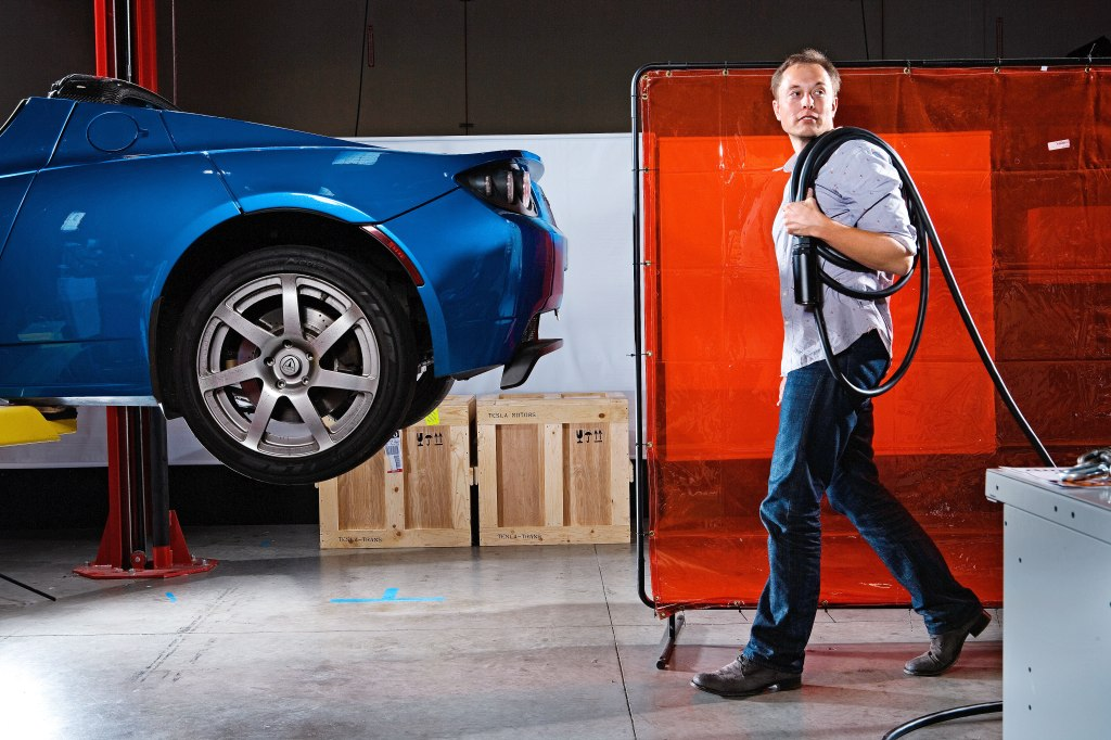 Tesla Roadster 2008 Elon Musk