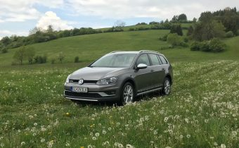 TEST Jazdenky Volkswagen Golf Alltrack 2.0 TDI 7. gen.